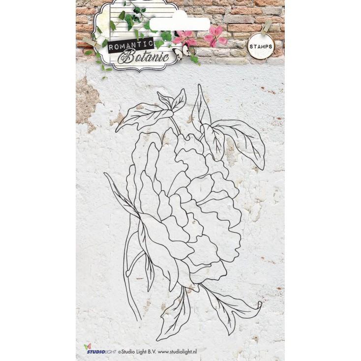 Clear stamp - Stucio Light - Romantic Botanic 05