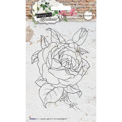 Własnoręcznie stworzysz piękne tło w swoim albumie - Stempel / pieczątka - Stucio Light - Romantic Botanic 06