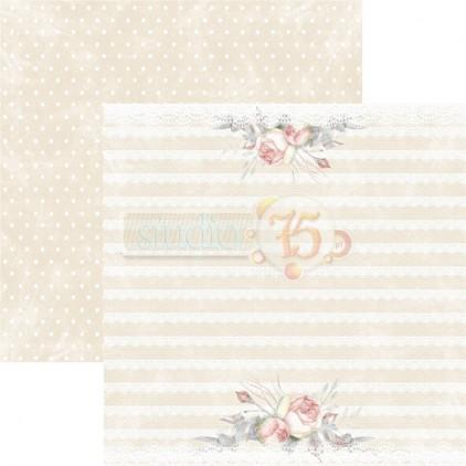 Papier do scrapbookingu – Studio 75 - Aleja róż 02