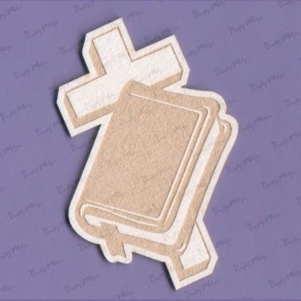 Crafty Moly - Cardboard element - prayer book