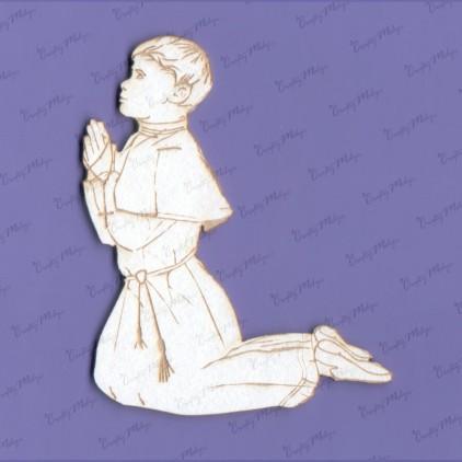 tekturka chłopiec komunijny - Crafty Moly 989