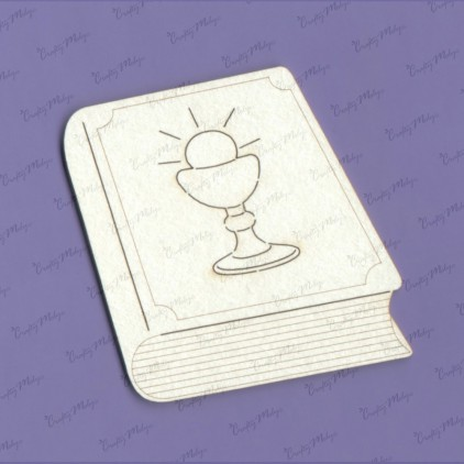 cardboard element a communion book - Crafty Moly 1125