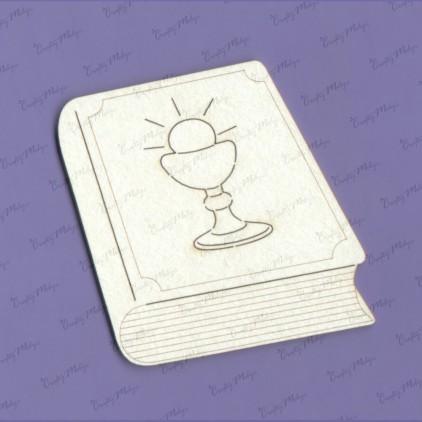 tekturka komunijna książeczka - Crafty Moly 1125