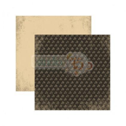 Scrapbooking paper - Studio 75 -Mrs & Mr Black 04