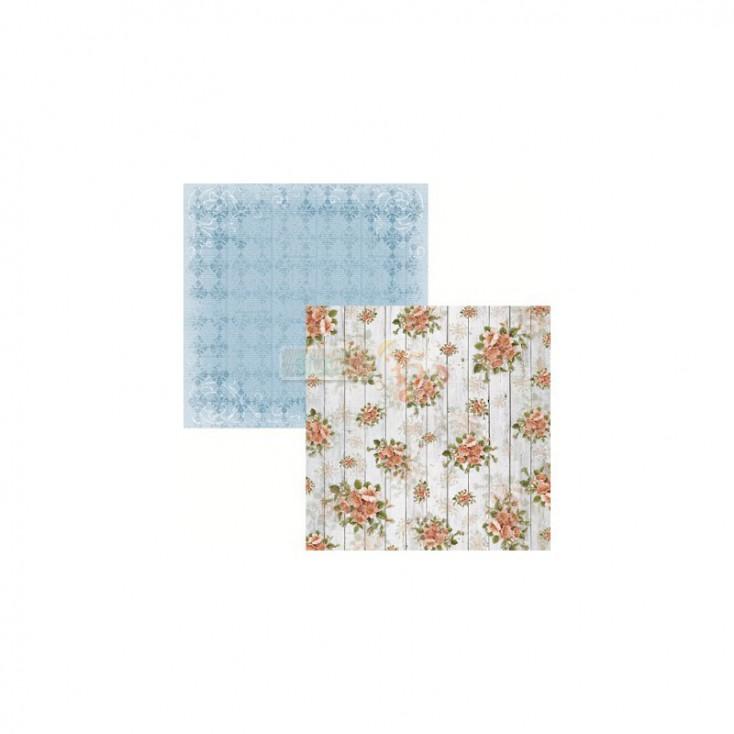Scrapbooking paper - Studio 75 - Secret garden 01