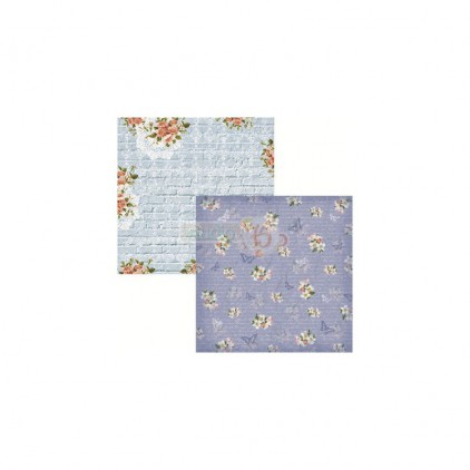 Scrapbooking paper - Studio 75 - Secret garden 02