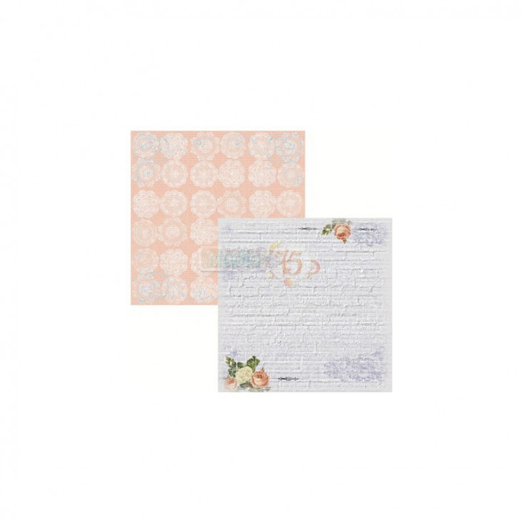 Scrapbooking paper - Studio 75 - Secret garden 03