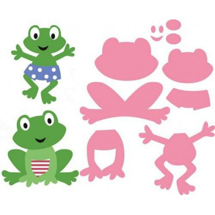 Marianne Design Collectables Die - COL1352 - Frog