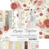 Pad of scrapbooking papers - Craft O Clock - Always Together