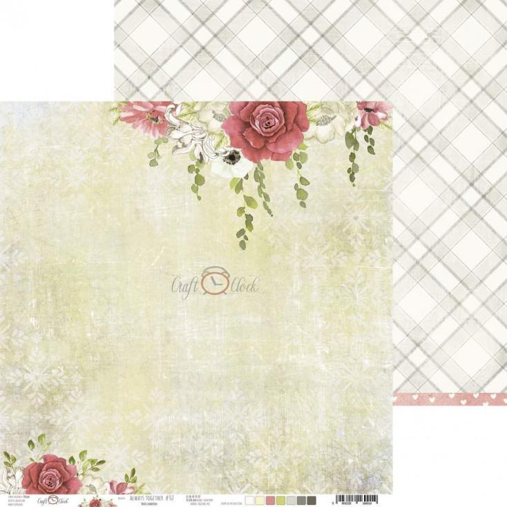 Scrapbooking paper - Craft O Clock - Always Together 02