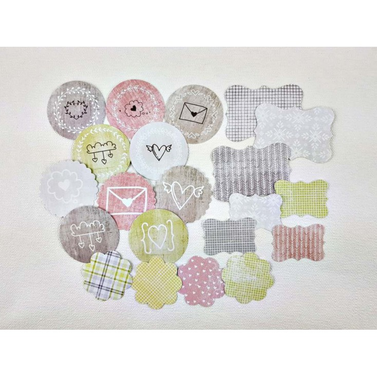 Set of diecuts - Craft O Clock - Always Together