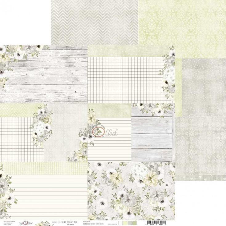 Papier do tworzenia kartek i scrapbookingu - Craft O Clock - Celebrate Today 06