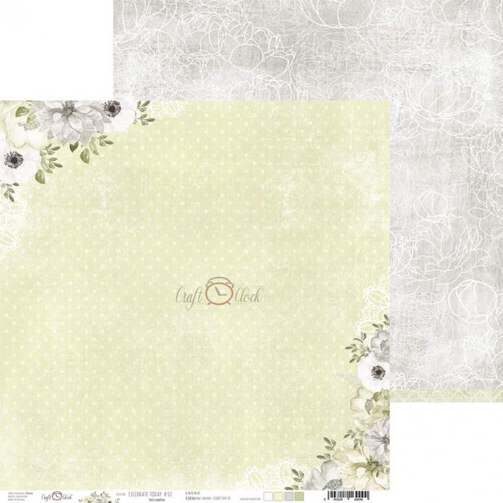 Papier do tworzenia kartek i scrapbookingu - Craft O Clock - Celebrate Today 02