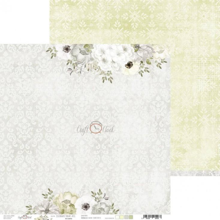 Papier do tworzenia kartek i scrapbookingu - Craft O Clock - Celebrate Today 01