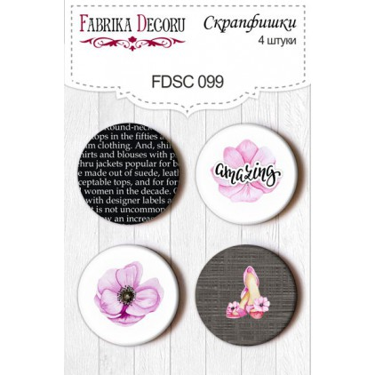 Selfadhesive buttons/badge - Fabrika Decoru - Especially for her