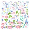 Set of scrapbooking papers - Fabrika Decoru - Believe in miracle