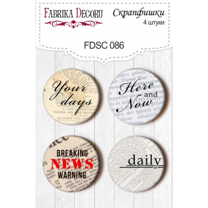 Selfadhesive buttons/badge - Fabrika Decoru - subtitles 086
