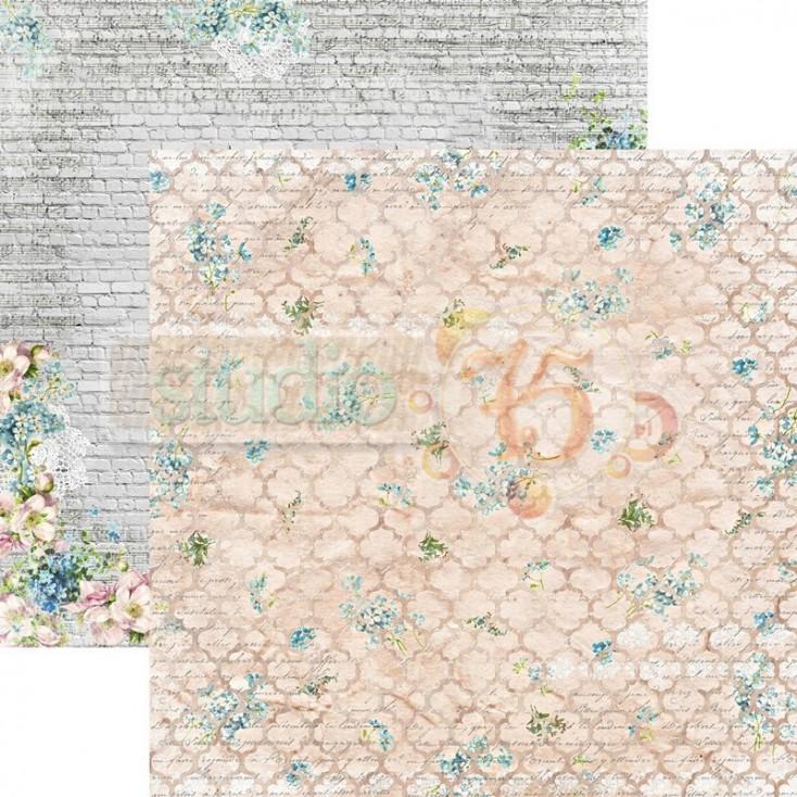 Scrapbooking paper - Studio 75 - Alice's dreams 02
