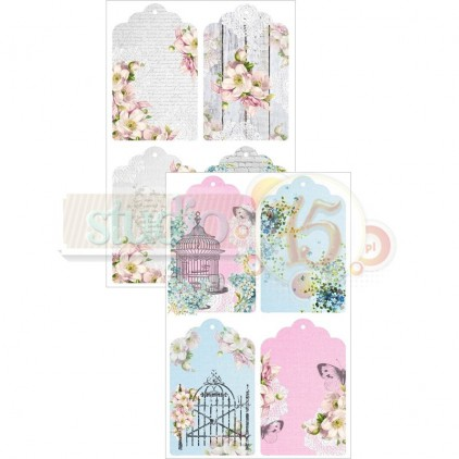 Scrapbooking paper - Studio 75 - Alice's dreams tags