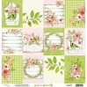 Papier kwiatowy - Papier do scrapbookingu - Mintay Papers - Wiosenny Czas 06