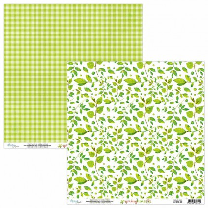 Scrapbooking paper - Mintay Papers - Springtime 03