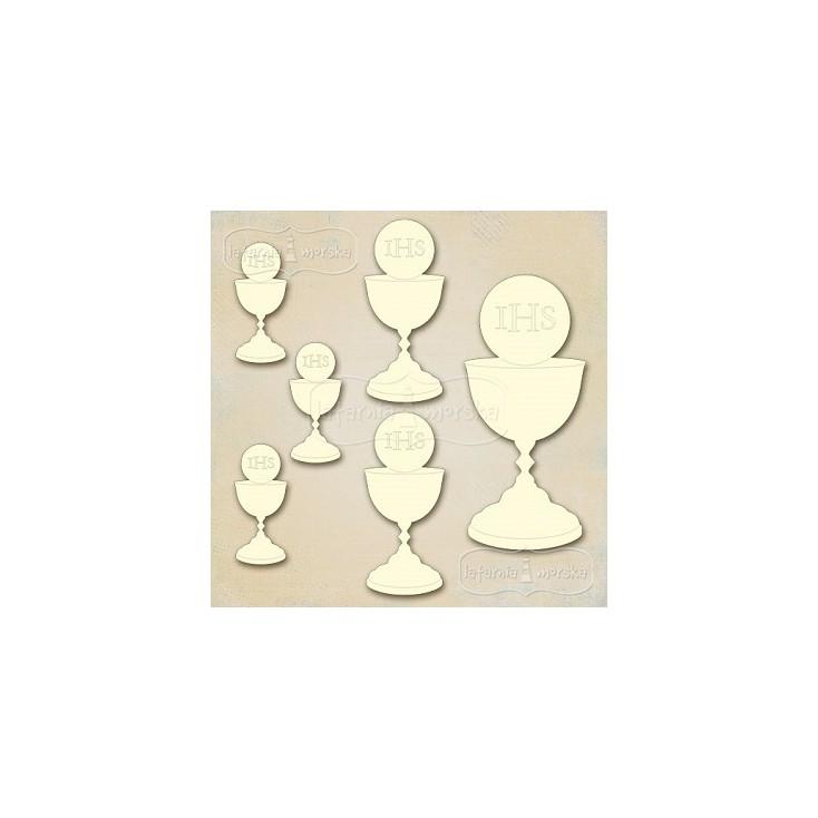Latarnia Morska - Cardboard element - chalice with a host mix