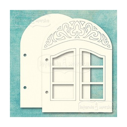 Baza albumowa - okno - Latarnia Morska
