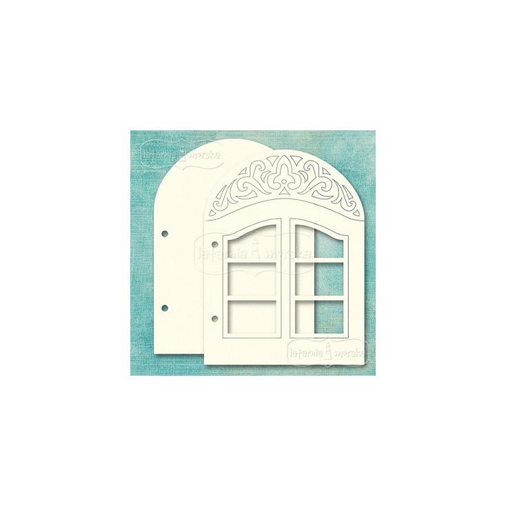 Latarnia Morska - Photo album base - window