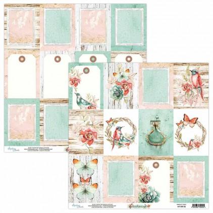 Papier kwiatowy - Papier do scrapbookingu - Mintay Papers - Bird Song 06