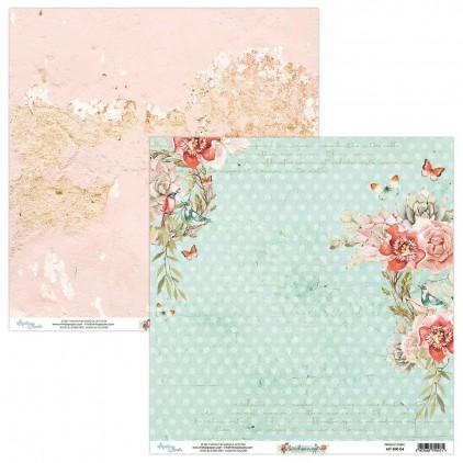 Scrapbooking paper - Mintay Papers - Bird Song 04