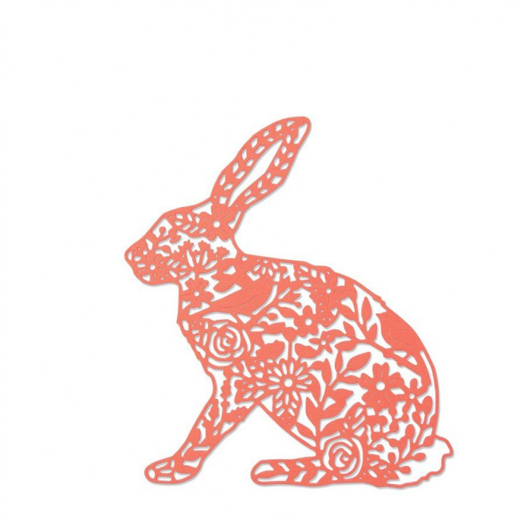 Sizzix Thinlits 661689 Die - Wild rabbit