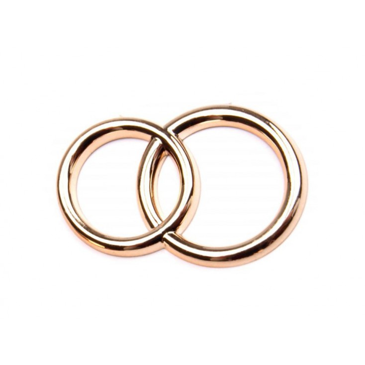 Wedding ring - 5 pcs - gold