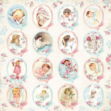 Craft and You Design - Scrapbooking paper - Shabby Babby 07