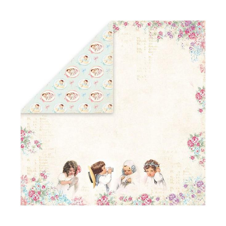 Papier z obrazkami retro - Craft and You Design - Papier do scrapbookingu - Shabby Babby 06