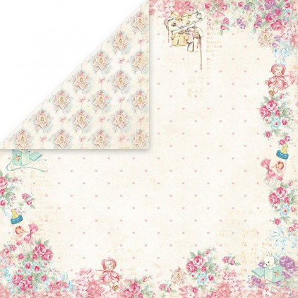 Papier z obrazkami retro - Craft and You Design - Papier do scrapbookingu - Shabby Babby 05