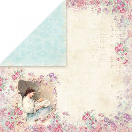 Craft and You Design - Scrapbooking paper - Shabby Babby 04