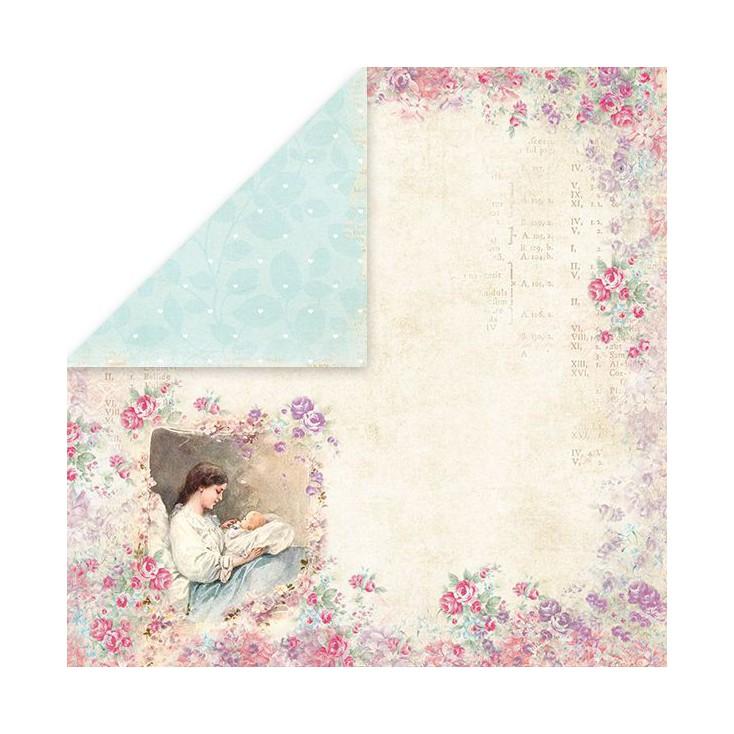 Papier z obrazkami retro - Craft and You Design - Papier do scrapbookingu - Shabby Babby 04