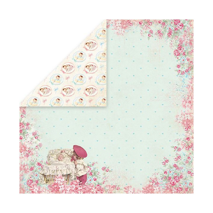Craft and You Design - Scrapbooking paper - Shabby Babby 03