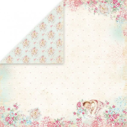 Papier z obrazkami retro - Craft and You Design - Papier do scrapbookingu - Shabby Babby 02