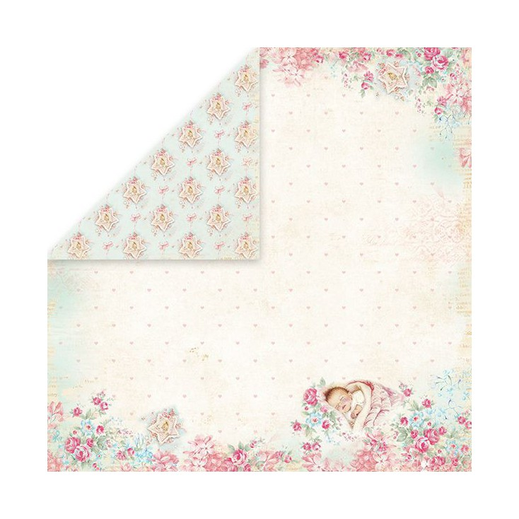 Craft and You Design - Scrapbooking paper - Shabby Babby 02