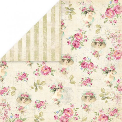 Craft and You Design - Scrapbooking paper - Belissima Rosa 06