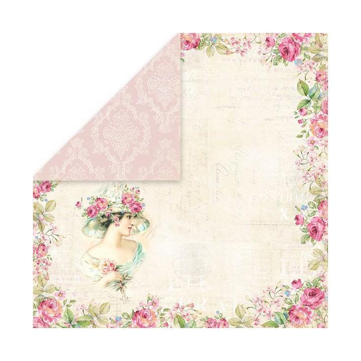Craft and You Design - Scrapbooking paper - Belissima Rosa 01
