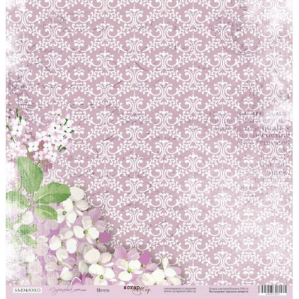 Scrapbooking paper - Scrap Mir - Dream