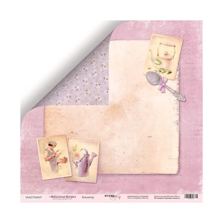 Papier do tworzenia kartek i scrapbookingu - ScrapMir - Pyszne przepisy 04