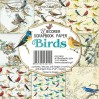 Decorer - Mały bloczek papierów do scrapbookingu -Birds