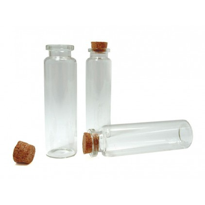 Glass mini bottle 20 ml - 1 pcs.