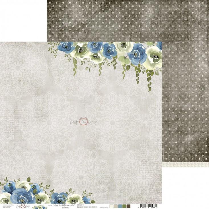 Scrapbooking paper - Craft O Clock - Ladies and Gentleman - 04