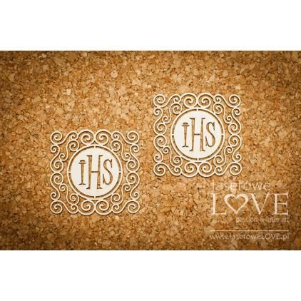 Laserowe LOVE - Hostia w kwadratowym ornamencie - 6 szt. - Significato