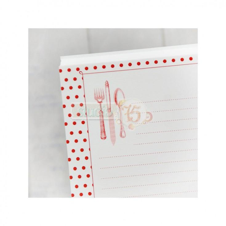 notebook insert - Studio 75 - red dots
