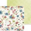 Scrapbooking paper - Craft O Clock - Mom's Garden - 05